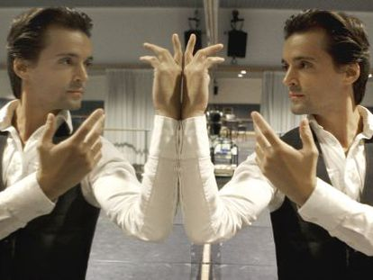 El bailarín y coreógrafo, en el Teatro Real de Madrid.