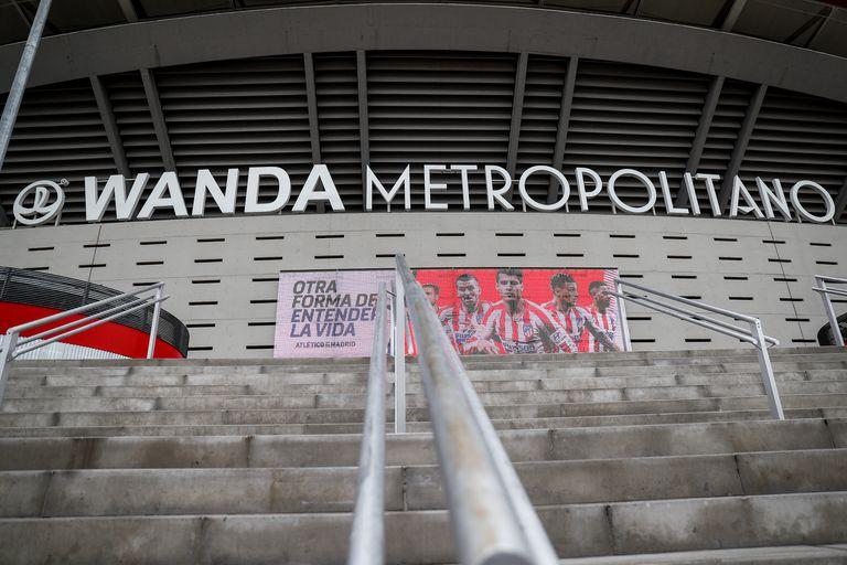 El Wanda Metropolitano, estadio del Atlético de Madrid.