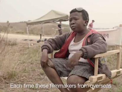 Imagen de la campaña 'Let's save Africa! - Gone wrong'.