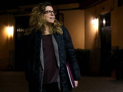 Cristina García denunció al Ciemat tras 10 años trabajando con contratos temporales.