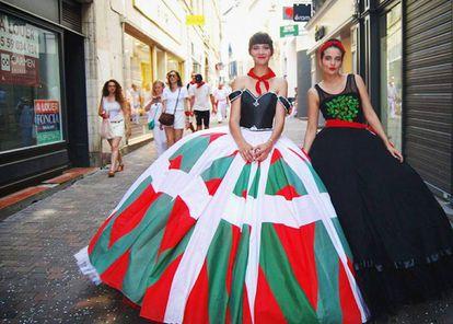 El 'Euskal Printzesa' las fiestas de Bayona en julio.