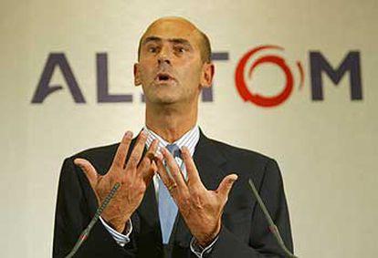 Patrick Kronk, presidente de Alstom.