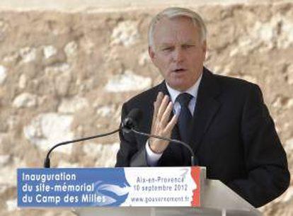 El primer ministro francés Jean Marc Ayrnault. EFE/Archivo