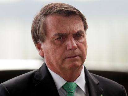 El presidente de Brasil, Jair Bolsonaro, este 9 de marzo.