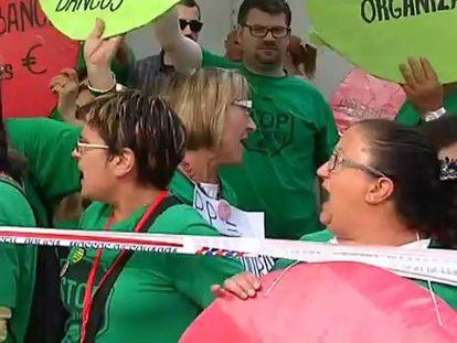 Guindos dice que España superará la crisis soberanista igual que el rescate
