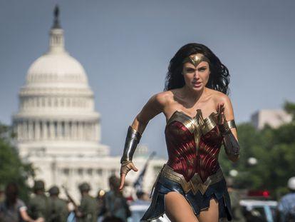 Gal Gadot, en 'Wonder Woman 1984'.