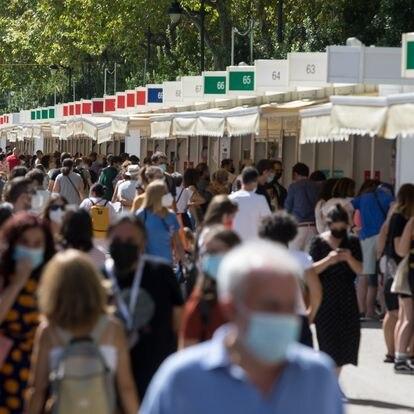 Dvd1070(10/09/21) Inauguración de la Feria del Libro de Madrid , Parque del Retiro Foto: Víctor Sainz