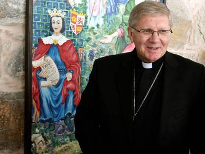 Juan Antonio Menéndez, obispo de Astorga.