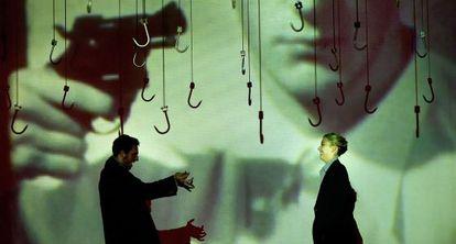 Un momento de 'Esto es teatro como era de esperar y prever', de Jan Fabre.