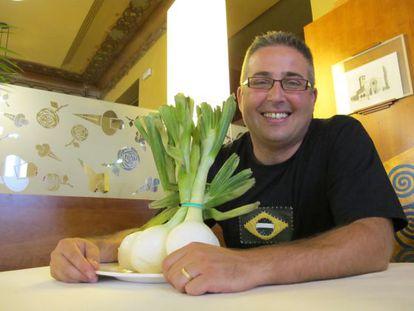 Daniel Molina, vendedor de cebollas por Internet.