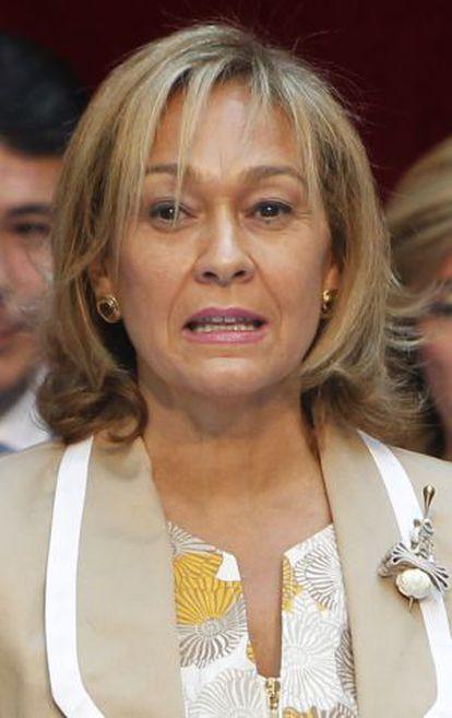 Ana Isabel Mariño, consejera de Empleo, Turismo y Cultura.