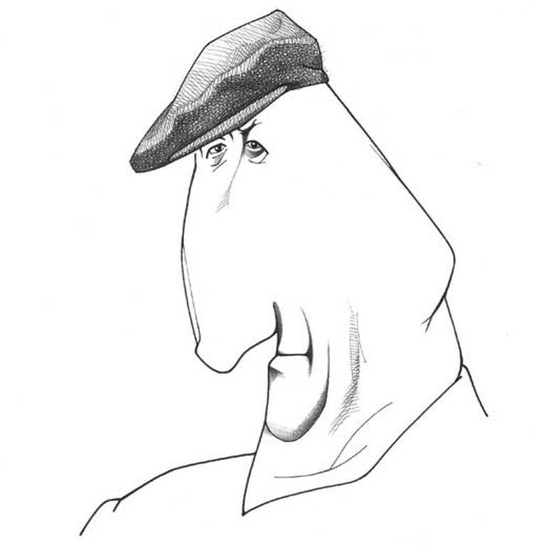 El italiano Claudio Magris (Trieste, 1939) según Loredano.