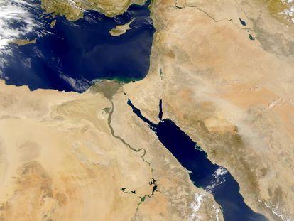 Egipto siempre ha vivido a lo largo del Nilo.