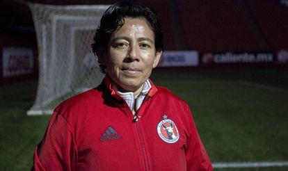 Marbella Ibarra, en Tijuana, tras una entrevista con este diario.