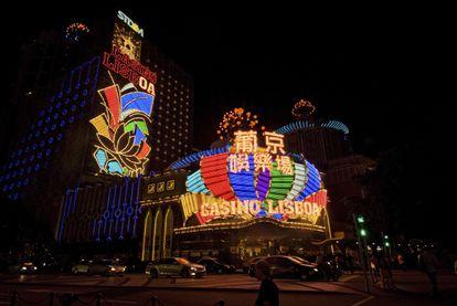 El casino Lisboa de Macao, en 2009.