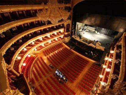 El Bolshoi, tras su inauguración en 2011, después de seis años de obras.