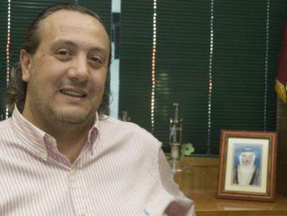 Jorge Dorribo, en su despacho de la planta lucense de O Ceao.