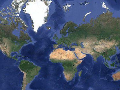 Repaso a las mejores imágenes de Google Earth.
