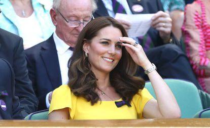 Kate Middleton, duquesa de Cambridge, en Wimbledon 2018.