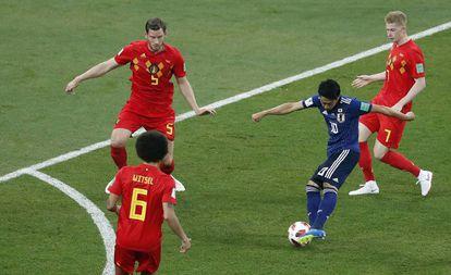 Belgica vs Japón.