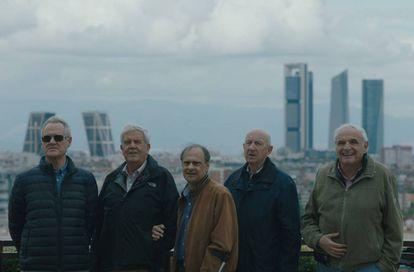 Los voluntarios jubilados de Desarrollo y Asistencia, en Madrid.