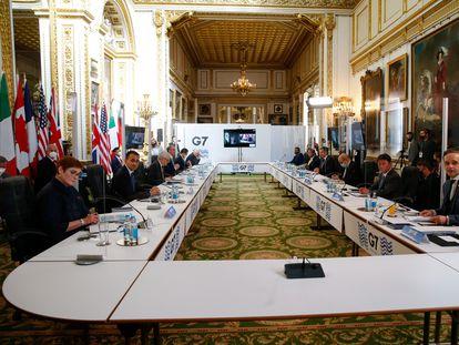 Reunión en Londres de ministros del G-7 el pasado 5 de mayo.