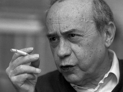 El escritor siciliano Leonardo Sciascia, en una imagen de 1988.