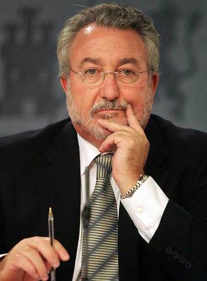 Bernat Soria, ministro de Sanidad.
