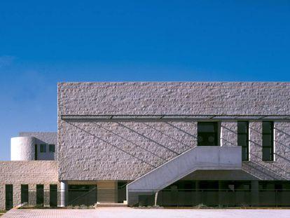 Fachada del hospital La Plana Vila-real, que ha intervenido la residencia de Domus Vi en la localidad.