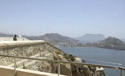Vista panorámica de Águilas desde el castillo de San Juan de la localidad murciana.