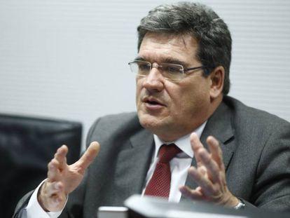 El presidente de la Autoridad Independiente de Responsabilidad Fiscal, José Luis Escrivá, en su comparecencia del miércoles en Madrid.