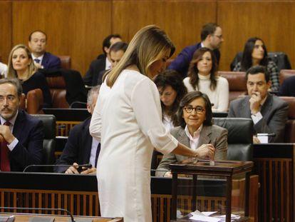 Sesión de constitución del nuevo Parlamento de Andalucía.
