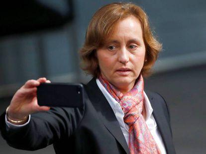 La dirigente del partido Alternativa para Alemania (Afd), Beatrix von Storch,  en una imagen del pasado mes de octubre en Berlín.