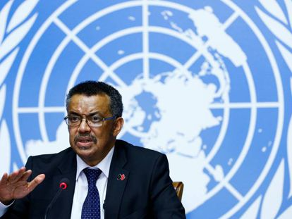 Tedros Adhanom Ghebreyesus, director general de la OMS, en una imagen del pasado 22 de abril.