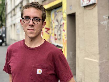 El periodista francés Valentin Gendrot.