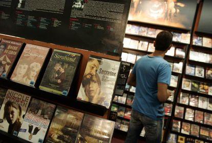 El alquiler de películas por Internet no despega.