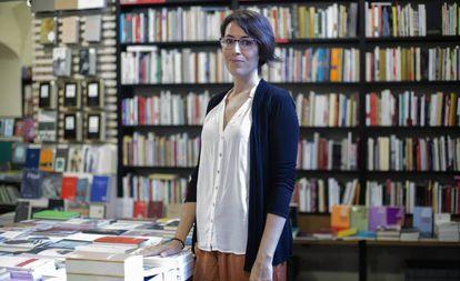 Eva Baltasar, en Barcelona el pasado 12 de septiembre.