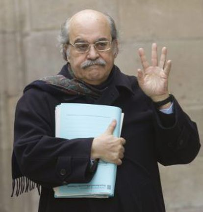 El consejero de Economía, Andreu Mas-Colell.