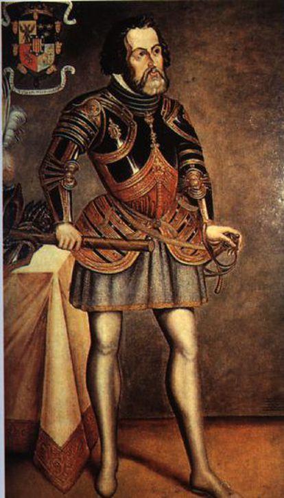Es la imagen del Cortés mestizo la que puede encantar o sorprender al lector.