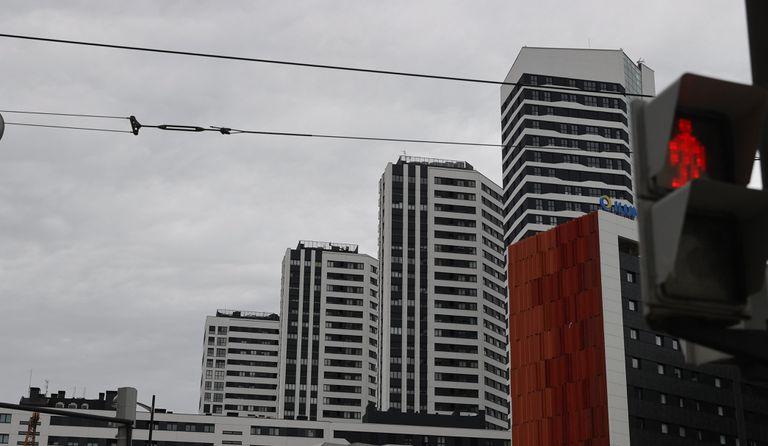 Edificios de viviendas en Bilbao.