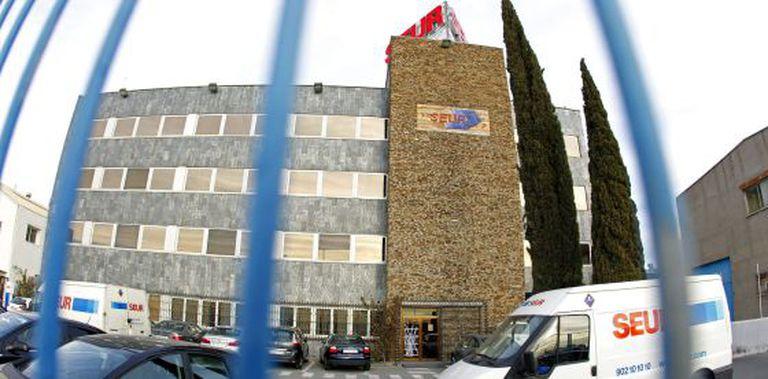 Una de las oficinas de Seur en Madrid.