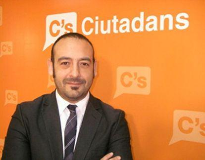 Jordi Cañas, diputado de Ciutadans.