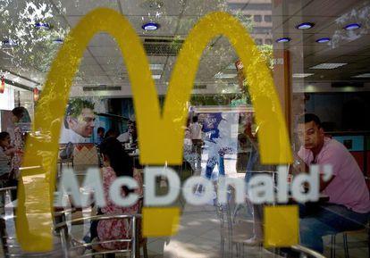 Local de McDonald's en Nueva Delhi.