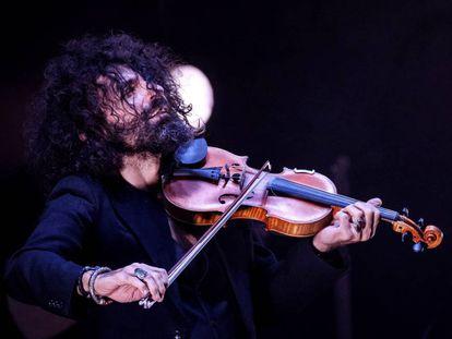 Malikian durante un concierto en Las Palmas de Gran Canaria.