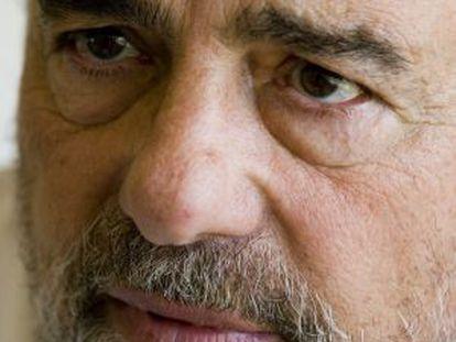 El actor Juan Luis Galiardo durante la presentación del su película 'I love Miami' en Barcelona, en una imagen de 2007.