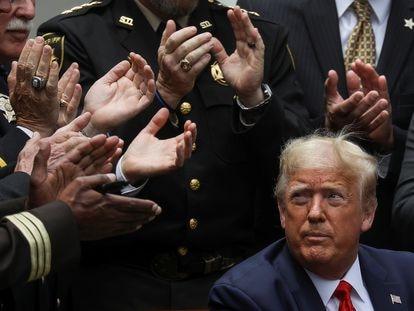 El presidente estadounidense, Donald Trump, el pasado 16 de junio en Washington, EE UU.