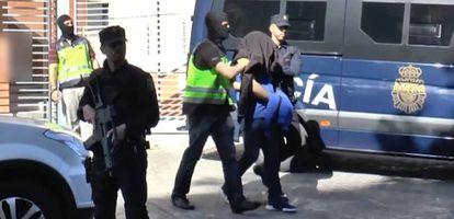 Uno de los yijadistas detenidos el día 19 de junio.