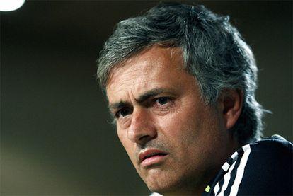 Mourinho, durante la conferencia de prensa.