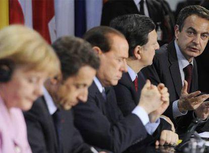 El presidente Zapatero, durante la cumbre del G-20 celebrada en febrero en Pittsburgh.