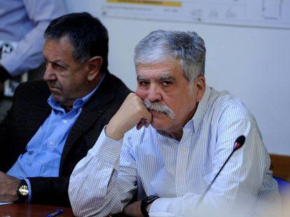 Julio De VIdo, en una reunión de comisión en Diputados, en septiembre de 2016.